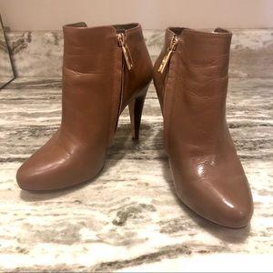 Banana Republic Shoes - Banana Republic Brown leather Tilia bootie w heel
